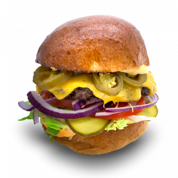 Chilli-Cheese Burger